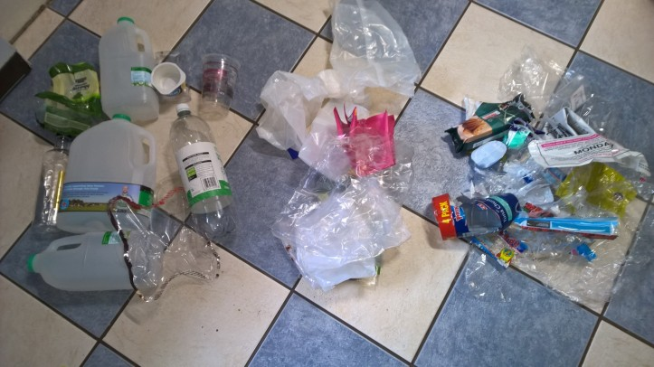 plastic waste week 1
